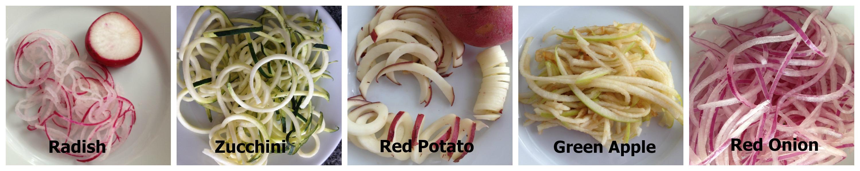 Inspiring Kitchen Vegetables with a Spiralized Twist