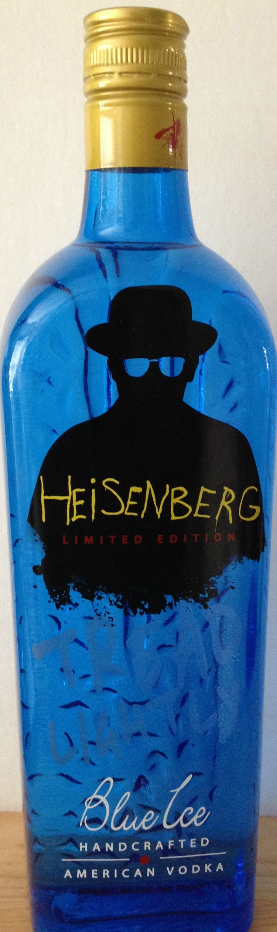Inspiring Kitchen  Breaking Bad vodka