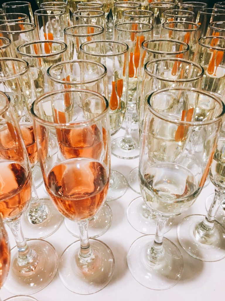 Food, Champagne and Fundraising at Kendall College and Fig & Olive