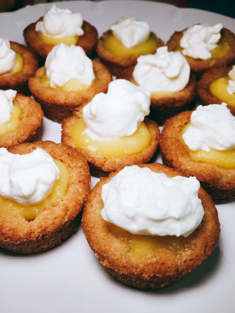 Sweet and Tart Lemon Curd Cookie Cups Inspiring Kitchen