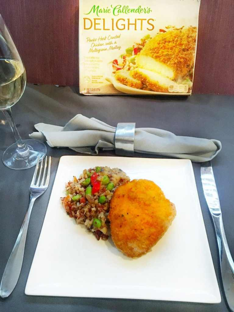 Dinner is Served: Marie Callenders Delights Panko Chicken