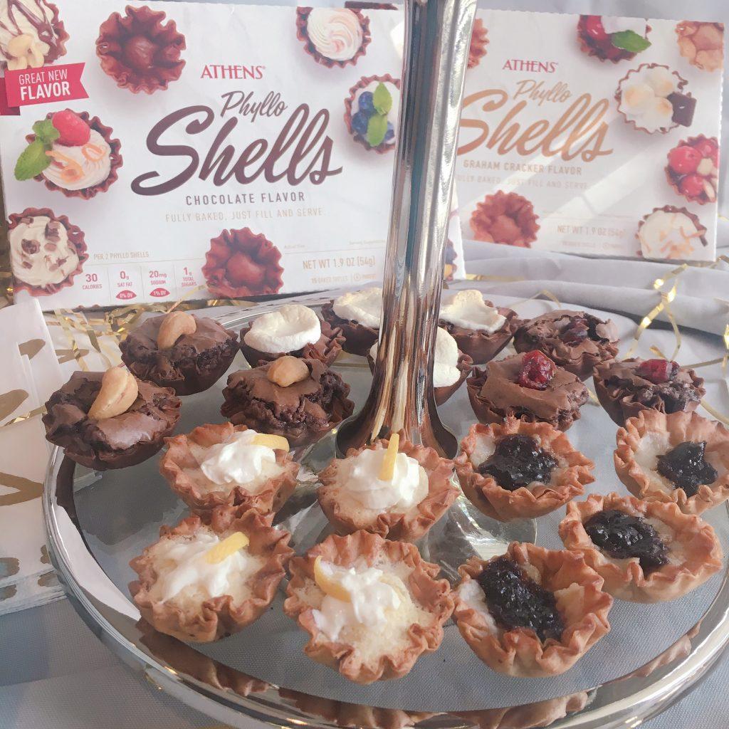 Athens Phyllo Shells Make Entertaining So Easy Recipes Appetizers Desserts Lemon Tart Brownie Phyllo Dough Dessert Recipes