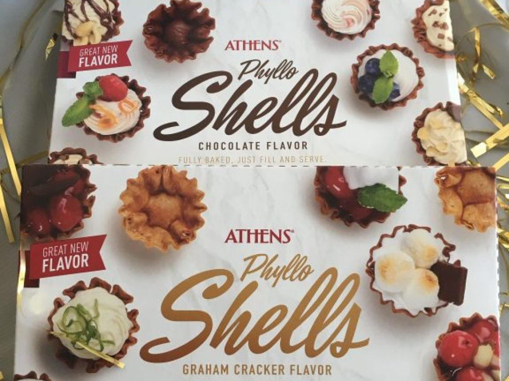 Athens Phyllo Shells Make Entertaining So Easy