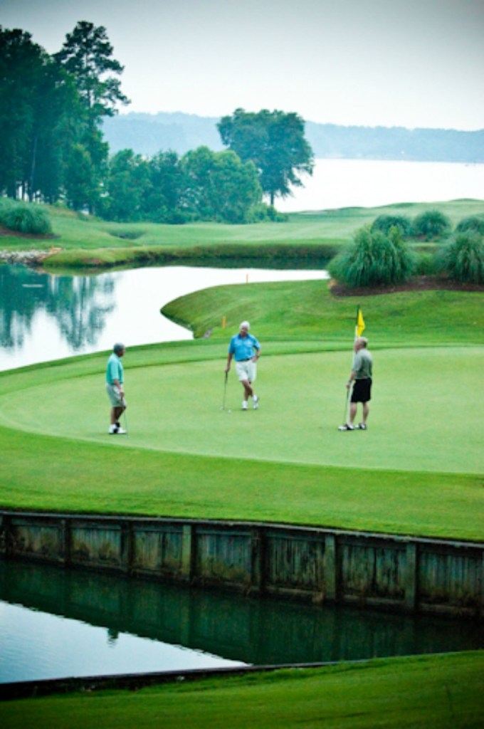 Reynolds Lake Oconee golf