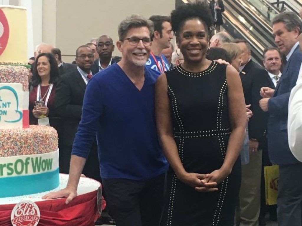 Chef Rick Bayless, LT Governor Juliana Stratton