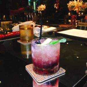 blackberry cocktail bourbon steak