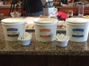 Nielsen Massey vanilla ice cream