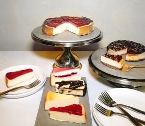 Eli's Cheesecake varieties