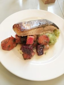 salmon palema beets