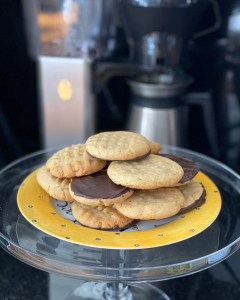 Chewy Peanut Butter Chocolate Cookies