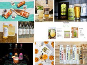 7 mocktails cocktils spirits collage
