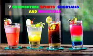 spirits cocktails mocktails title page