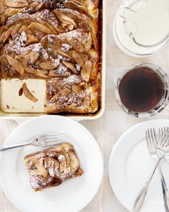 slice of apple french toast