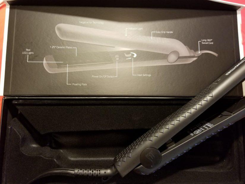 The herstyler LED flat iron