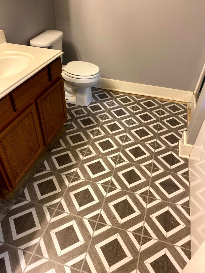 How To Install Vinyl Peel and Stick Flooring