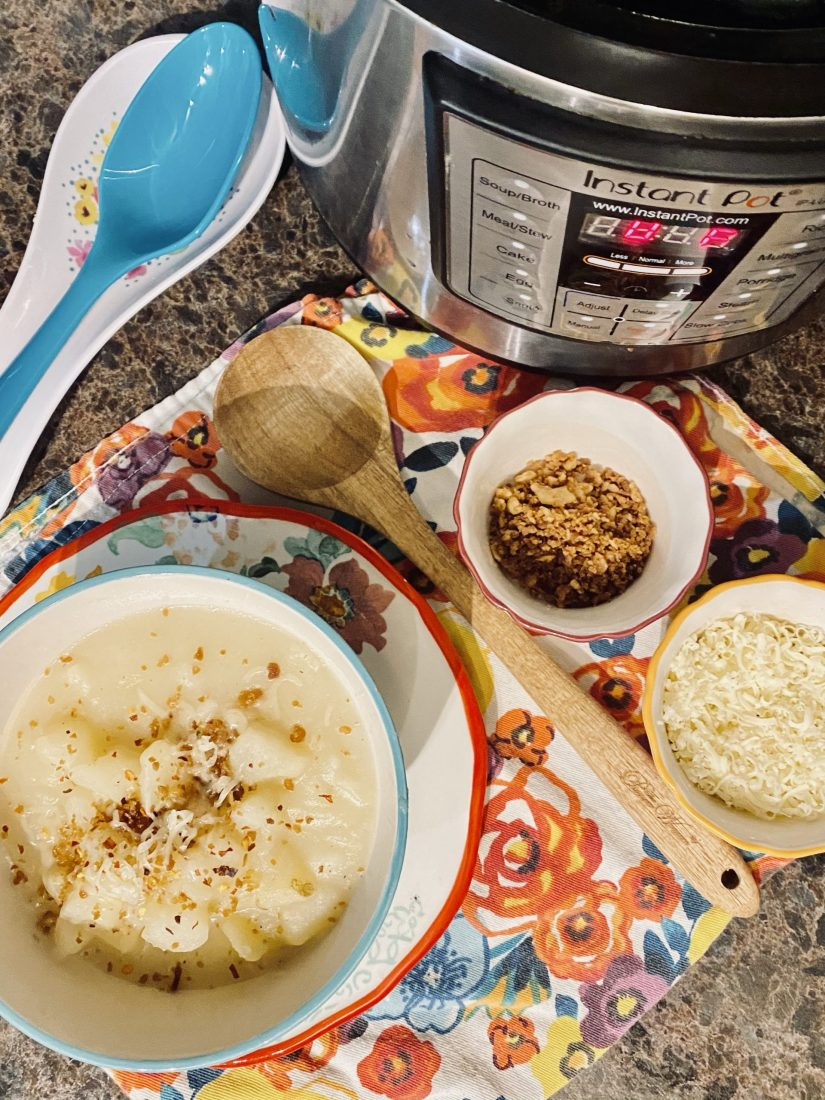 Quick and Easy Instant Pot Potato Soup