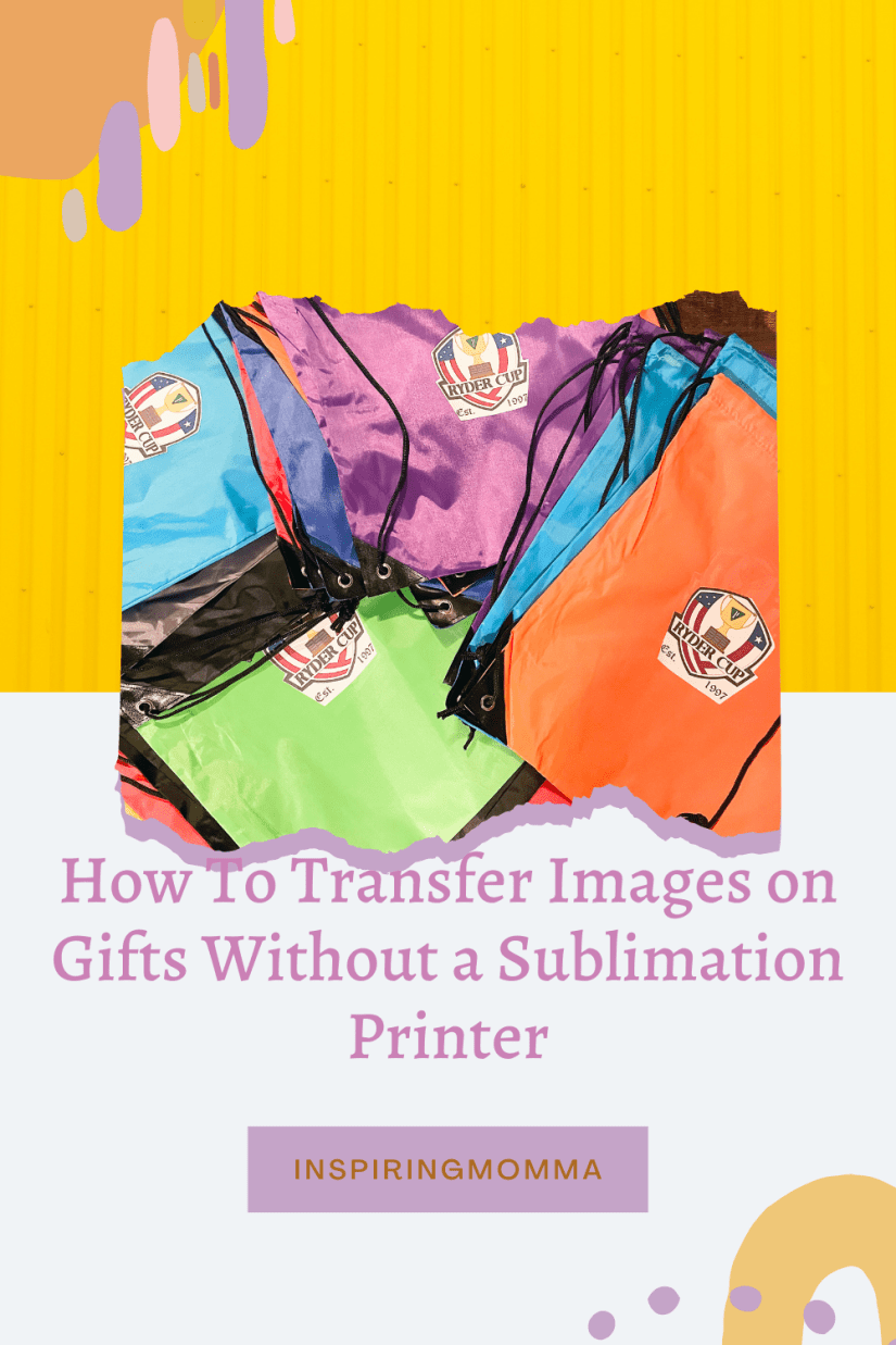 How To Transfer Images Without a Sublimation Printer