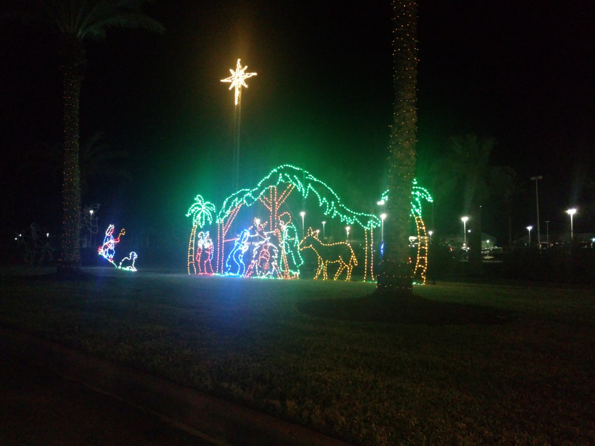 Galveston Island Festival of Lights Christmas