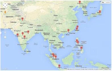 Site Visitors - Asia