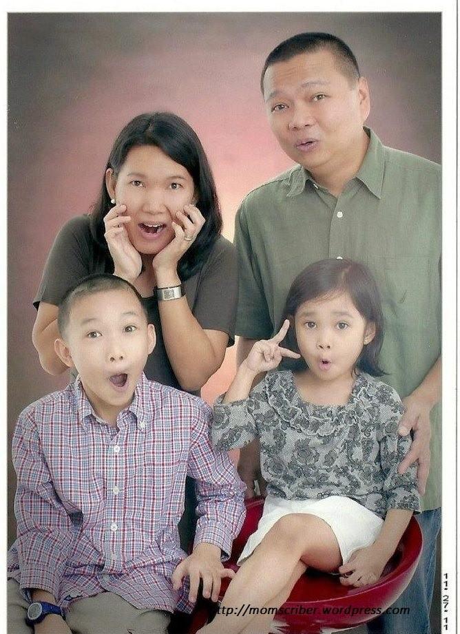 wacky family photo