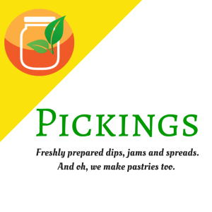 Pickings square logo