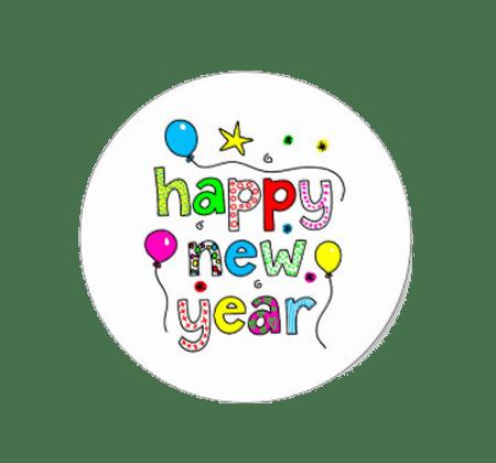 Happy New Year 2019 Stickers
