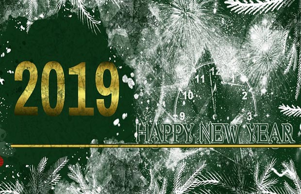 happy new year greetings message 2019