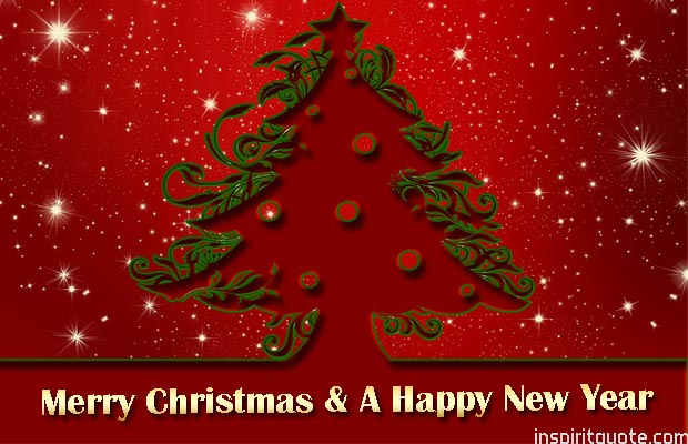 merry christmas and happy new year best wishes