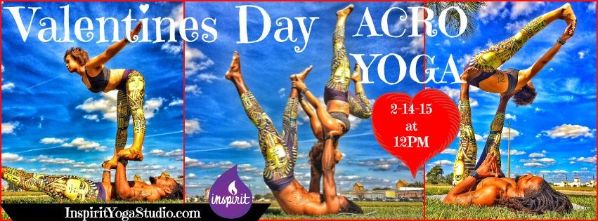 Valentines Day Acro Yoga Inspirit Yoga Studio