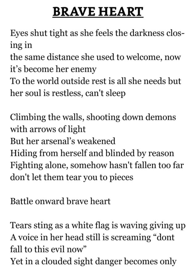 Poems About Giving Up 3