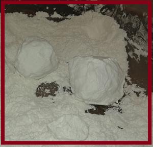 corstarch snow