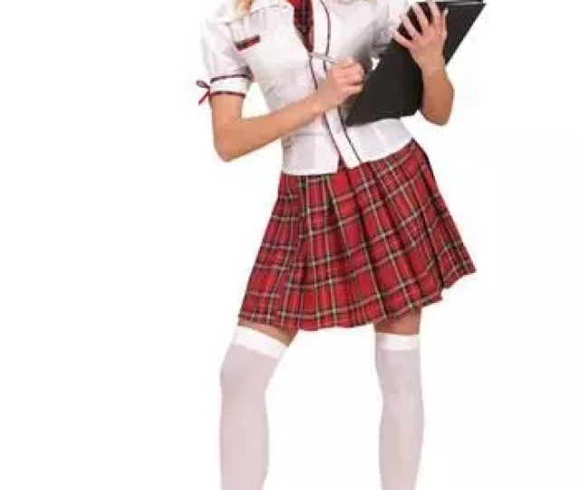 Sexy Schoolgirl Uniform L School Uniform Costume Schoolgirl Outfit