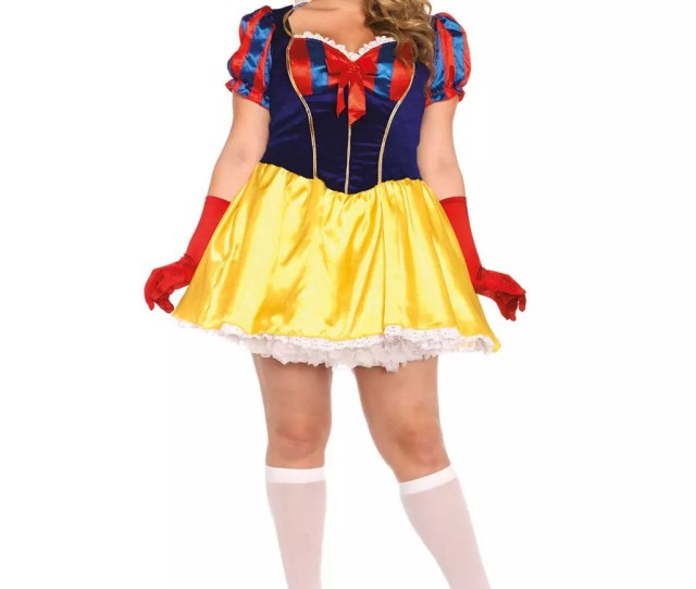 Sexy Snow White Costume Plus Size For Carnival Horror Shop Com