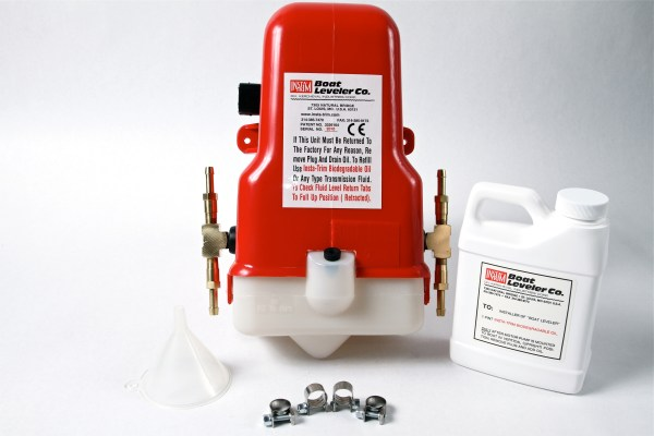 12 VOLT MOTOR PUMP WITH TEES FOR 4 CYLINDERS & HOSES-0