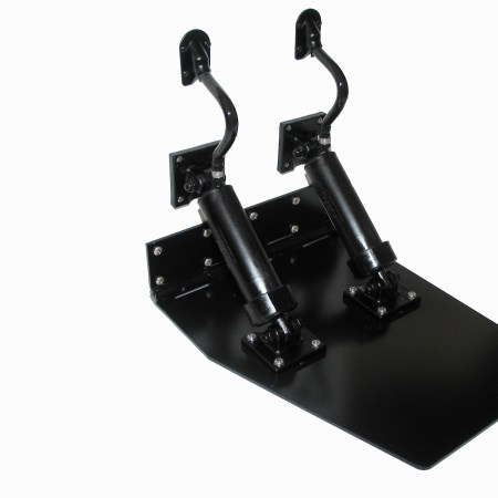12 X 16 HEAVY DUTY, DUAL CYLINDER, TRIM TAB SET-0