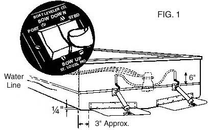 instructions archives insta trim boat levelers Boat Leveler Wiring Diagram