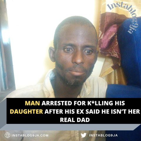 Man arrested for k*lling his daughter after his ex said he isn't her real dad .