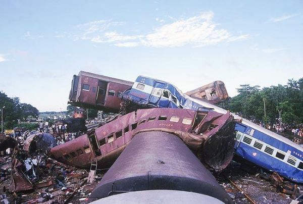 Gaisal train disaster due to human error