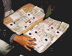 83000 rs seized
