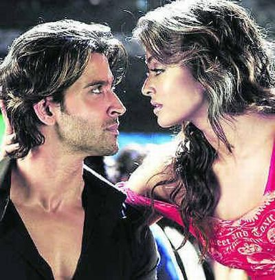 and hrithiks kissing scene 191