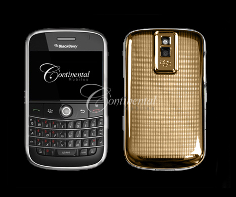 blackberry bold 24k yellow gold luxury mobile phon