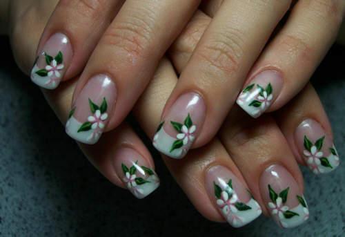 finger nail painting 15676