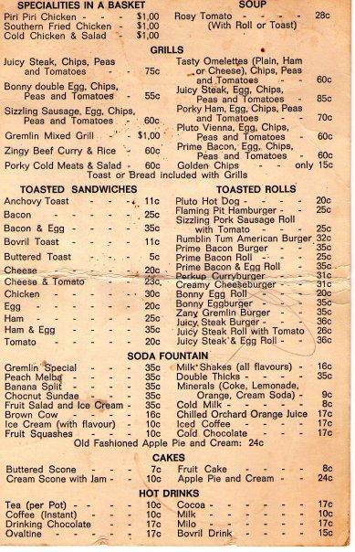 gremlin menu 1977 XC3oc 16744