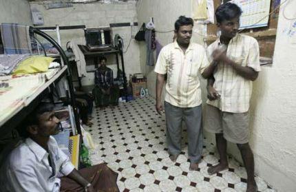 indian workers in dubai held