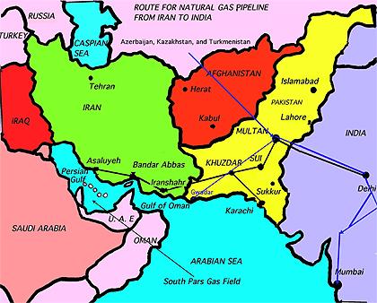indo iran gas pipeline