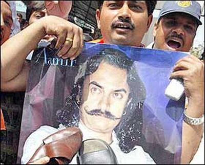 protest aamir