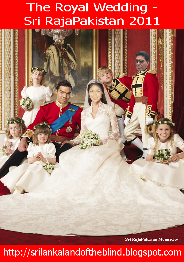 royal wedding humbugthotta 2011 official portrait