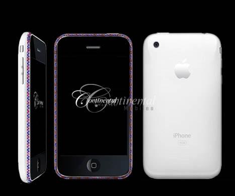 sapphire ruby apple 3g iphone 16gb white luxury mo