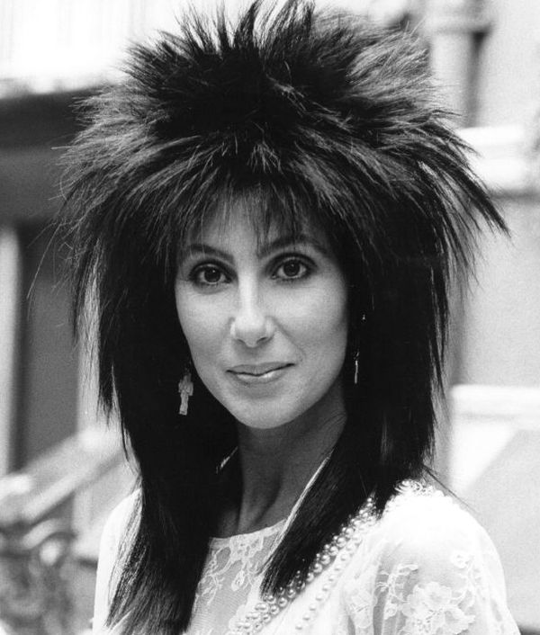 Cher and the Big bird look