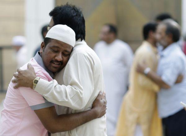 Mideast Saudi Eid al Fitr